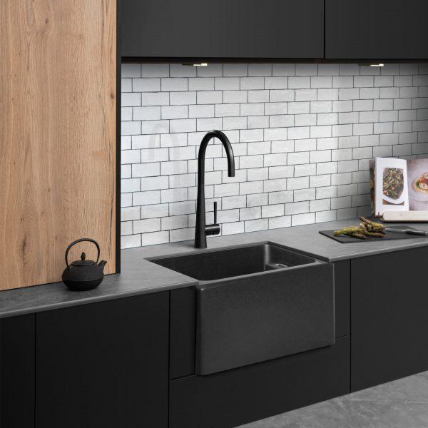 Granite Sink Black