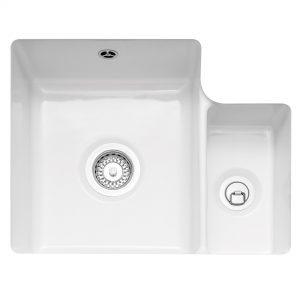 Ettra 150 Undermounted Ceramic Sink