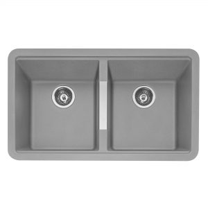 LEESTI 200 Granite Sink – Pebble Grey